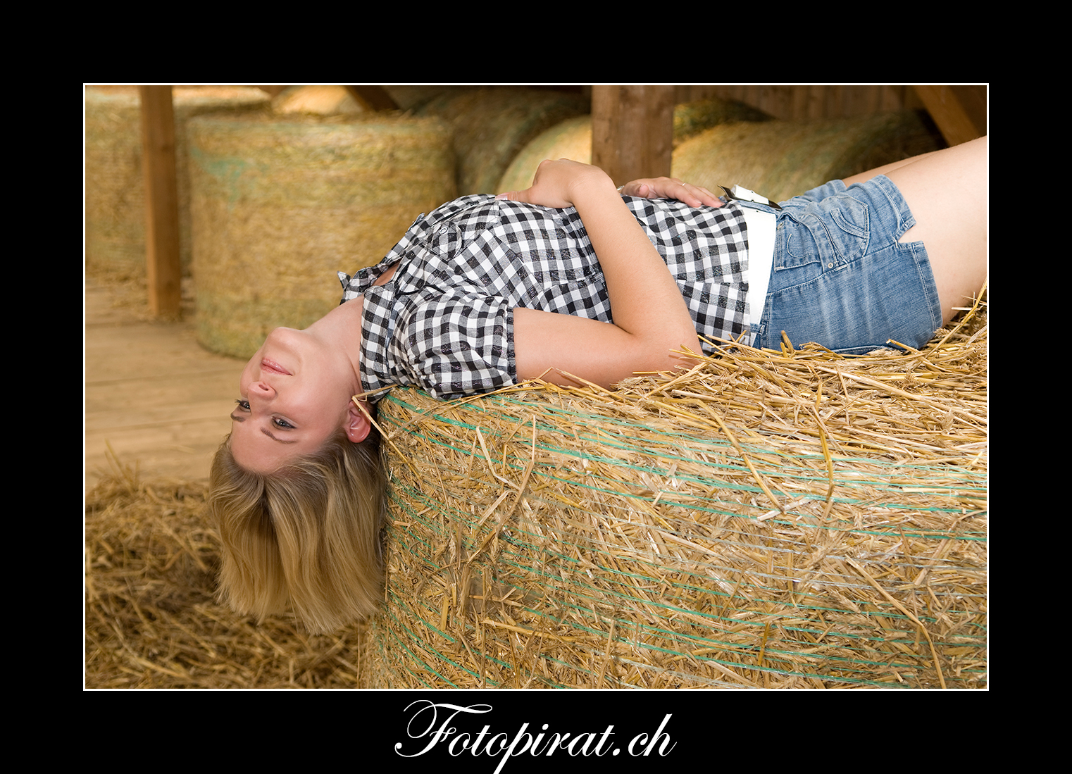 Fotoshooting, On Location, Bauernkalender, Modelagentur, Fotomodel, Bauernmädchen, blond