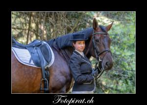 erotisches Pferdeshooting
